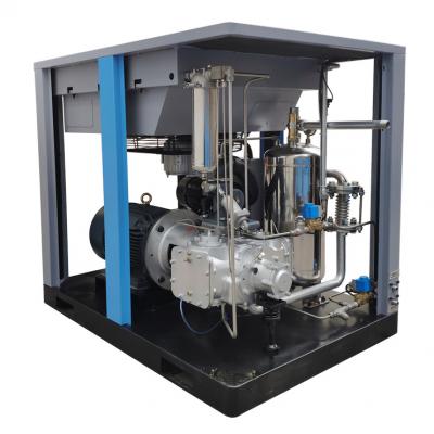 15KW无油空压机 螺杆式空压机 麦恩斯空压机 永磁变频空气压缩机
