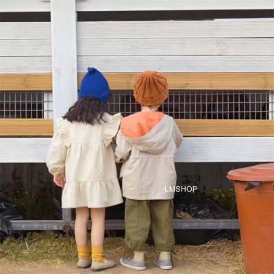 秋季韩版童装女童外套 巴布豆童装品牌折扣进货 品牌折扣童装在那批发