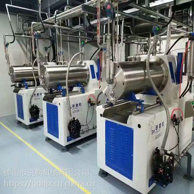 广东水性工业漆机械漆砂磨机 锐勒卧式研磨机厂家