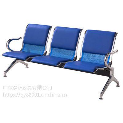 QY001坐椅,三排椅*三人坐铁排椅价格*三人公共排椅