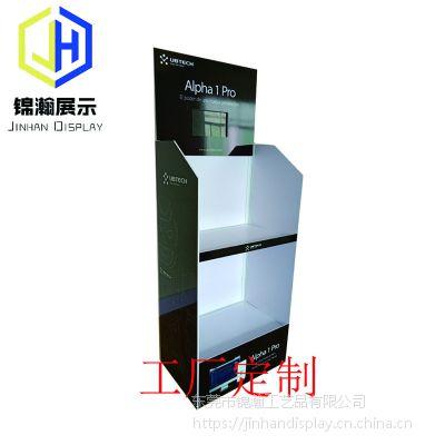 PVC塑料展架定制工厂锦瀚展示开发易组装型的安迪板PVC发泡板展架