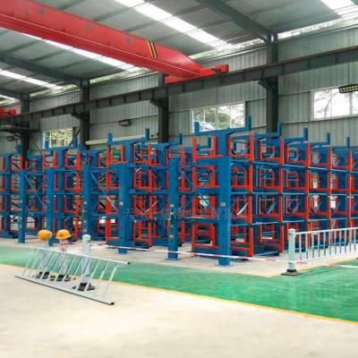 福建重型货架结构 伸缩悬臂式货架价格表 不锈钢型材存放