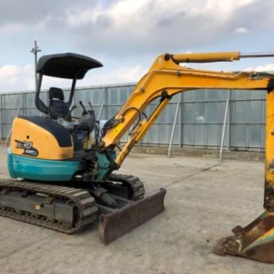 久保田原装二手小型挖掘机价格图片 3吨左右的二手小挖机