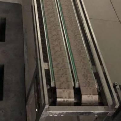 宽度定制板链式输送机械 耐腐蚀耐高温链板机 本溪食品传输带