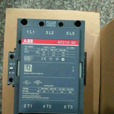 原装正品ABB接触器AF210-30-11交直流通用接触器 线圈100-250V AC/DC现货
