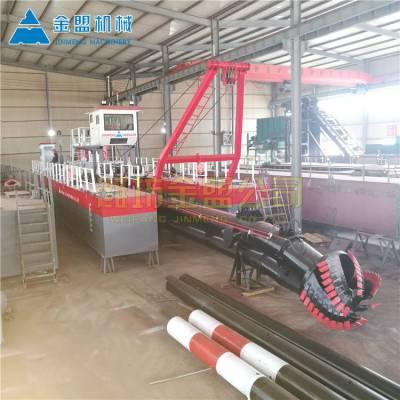 广东珠海河道挖泥船城市水务治理方案 广东金盟机械环保河道挖泥船价格