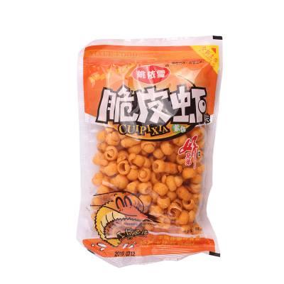 姚依雪脆皮虾食品生产线非油炸膨化食品机械设备