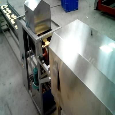西安饼干生产线图片 饼干机价格 桃酥饼干机多少钱 朗正机械