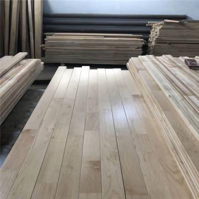 红岗品质枫桦木地板施工