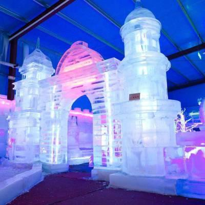 冰雪世界嘉年华方案冰雕展租赁 冰雕展出租