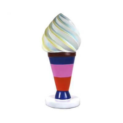 甜品店雪糕造型雕塑 肇庆玻璃钢雕塑模型