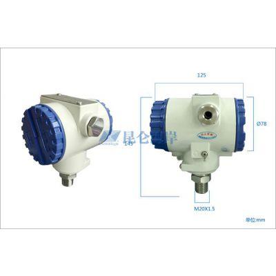昆仑海岸 北京昆仑海岸传感 JYB-KB-WPAGZG 防爆卫生适用型压力液位变送器