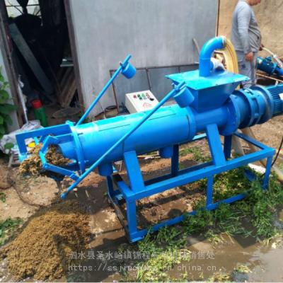 厂家供应 猪粪螺旋挤压脱水机 猪粪牛粪干湿分离机 质优价廉