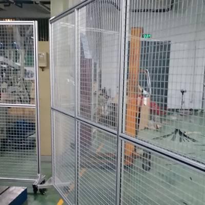 丽水铝型材防护隔离网-东润仓储设备值得信赖
