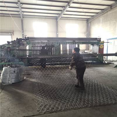 普镀锌石笼网 流域治理格宾网箱 普镀锌六角网垫源头厂家