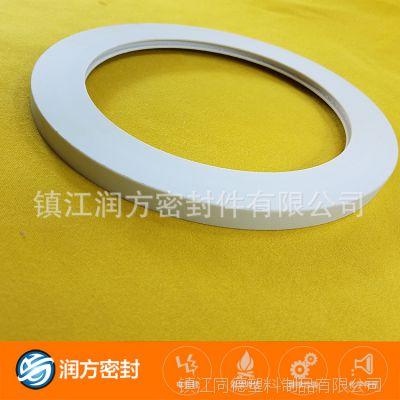 四氟填充玻纤垫片 可以耐腐蚀 耐酸碱 化工管道 规格承接加工定制
