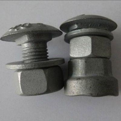 公路护栏螺栓 盛业交通设施 防盗护栏螺栓工厂 喷塑护栏螺栓
