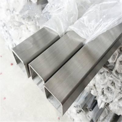 常德SUS201不锈钢方管 湖南201拉丝方通 长沙201矩形管