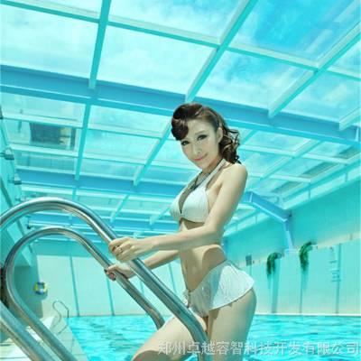 郑州游泳池扶梯,304不锈钢泳池扶梯