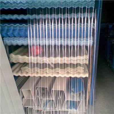 贵州省剑河县聚酯不发黄950型1.0mm大棚采光板 FRP透明瓦大量供应