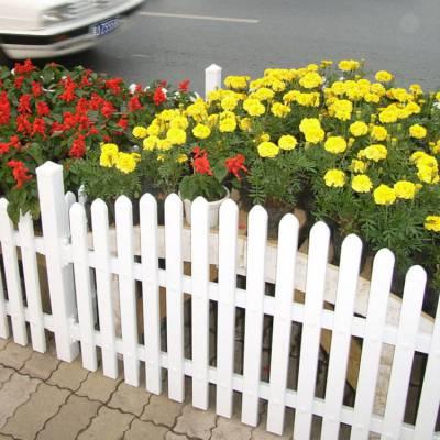 贵州 PVC草坪护栏 园艺护栏 小区护栏