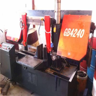 供应4240/70二手金属双立柱带锯床 铝材切割锯床 小型金属切割机