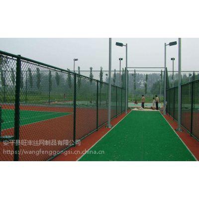 鑫旺丰校园喷塑笼式足球场围栏