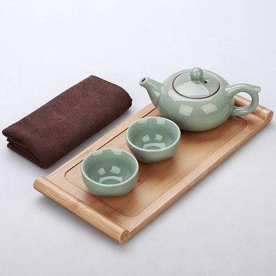 功夫茶具套装便携包式旅游泡茶杯定制快客杯一壶二杯四杯 定制批发
