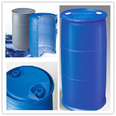 220L化工桶双环桶专用吹塑机 通佳塑料桶生产机器