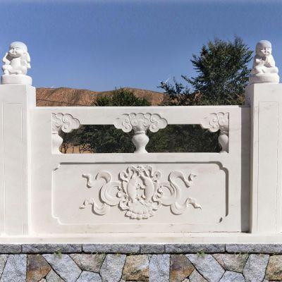石材栏杆-石材栏杆图片大全-石雕栏板批发市场-曲阳县聚隆园林雕塑