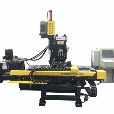 天旭数控TPPD103数控液压冲钻复合机金属板钻孔机冲孔机