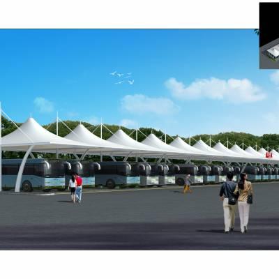 周口商业广场膜结构屋顶不二之选
