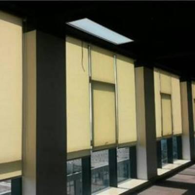 海淀区办公窗帘订做房山 喷绘卷帘写字楼会议室工程百叶帘
