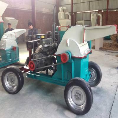 富德机械多口木材粉碎机 新款多功能木材粉碎机品质保证