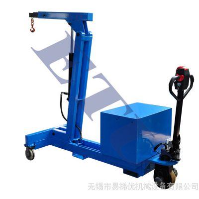 ETU易梯优,ETMC型全电动平衡重式单臂吊车 电动型平衡重式单臂吊,电动行走及电动起升