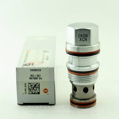 SUN阀CKGB系列,CKGB-XCN单向阀 美国SUN液压螺纹插装阀
