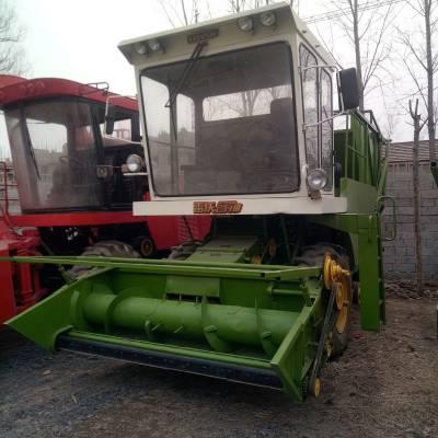 河南多功能滚刀式青储机 牧草粉碎收割机 大型青贮饲料机