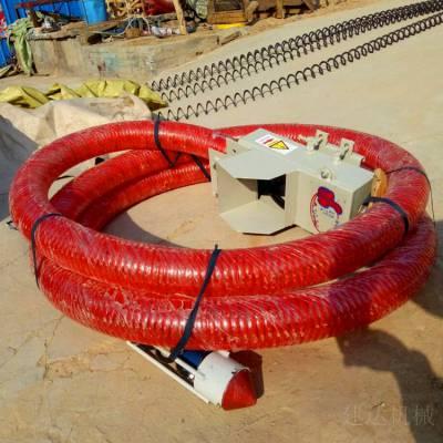 新型电动粮食吸粮机 螺旋式软管吸粮机