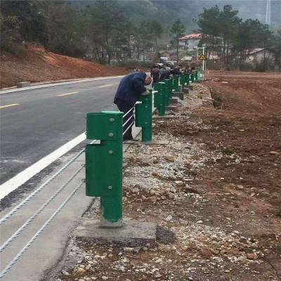 景区绳索护栏-公路绳索护栏-绳索护栏生产厂家