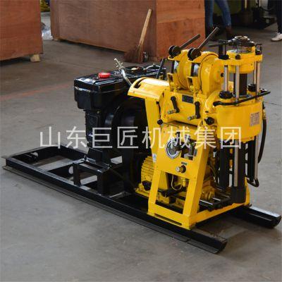 华夏巨匠HZ-130Y 100米勘探钻机 全液压钻探机 百米钻探设备