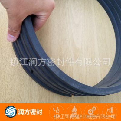【润方密封】供应压缩机配件 碳纤填充聚四氟乙烯 耐磨密封件
