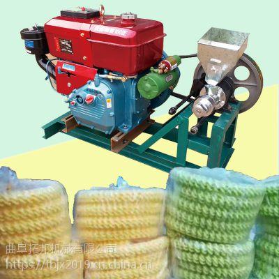 拓邦直销江米棍面粉组合膨化机图片 小型玉米爆米花膨化机