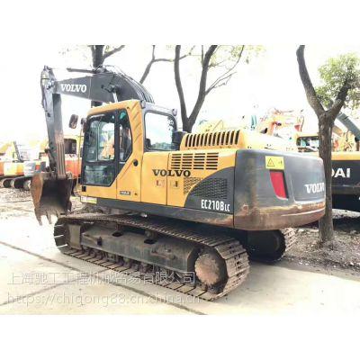 厂家直销精品沃尔沃210二手挖掘机-上海驰工二手挖掘机市场