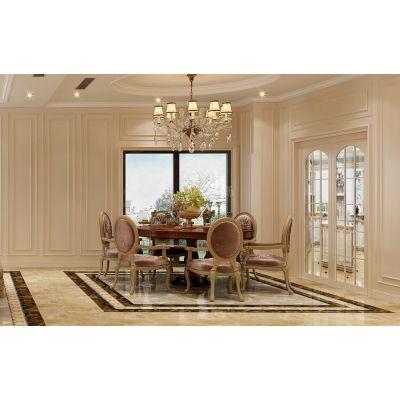 重庆龙湖至德路9号别墅装修,大学城天古装饰联排欧式风格设计效果,天古装饰作品案例