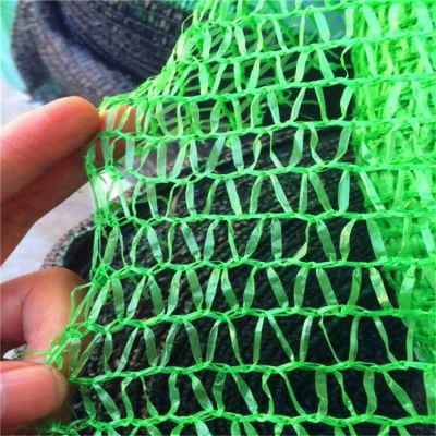 建筑防尘网 绿色盖土网黑色遮阳网 3针密目网