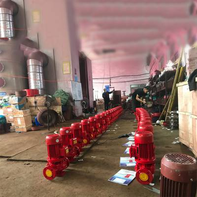 3CF认证 XBD4.5/3W-L 40L 4KW 上海江洋 楼顶单级稳压设备 管道泵 优质厂家