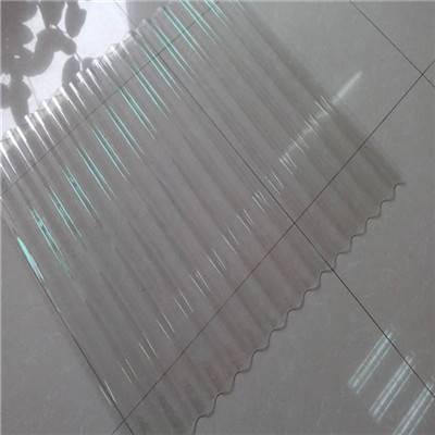 浙江省丽水市750型抗紫外线1.5mm透明采光耐腐蚀 FRP双层阳光板销售厂家