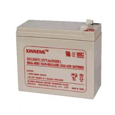 昕能蓄电池SN12009 XINNENG铅酸蓄电池12V9AH UPS电源蓄电池