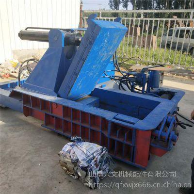 兴文金属压块机直销 废旧边角料卧式打包机 200吨钢包花屑压块机