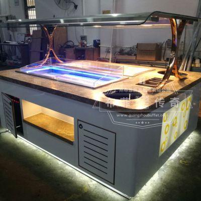 自助餐台 艺术餐台组合布菲台wok餐台布菲专业定制 自助餐设备